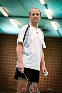 Showdown auf dem Badmintonfeld