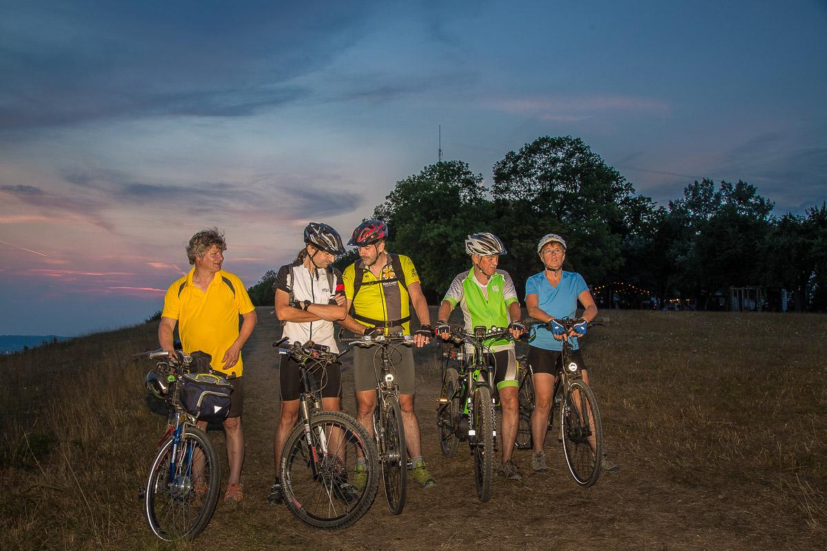 Fahrradtraining während der Ferien