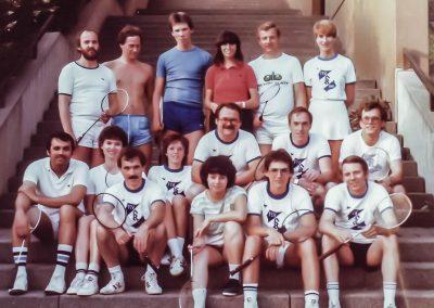 Künzelsau Badminton 1980-Mannschaften