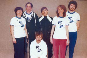 Künzelsau Badminton 1983-Mannschaft_1