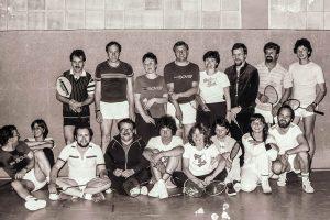 Künzelsau Badminton 1984-Badminton