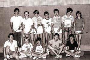 Künzelsau Badminton 1984-Jugendmannschaft