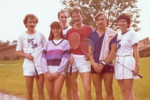 Künzelsau Badminton 1984-Mannschaft_1