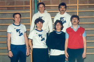 Künzelsau Badminton 1985-Mannschaft_1
