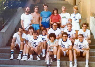 Künzelsau Badminton 1985-Mannschaften