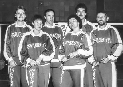Künzelsau Badminton 1987-Mannschaft_2