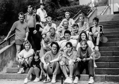 Künzelsau Badminton 1990-Badminton