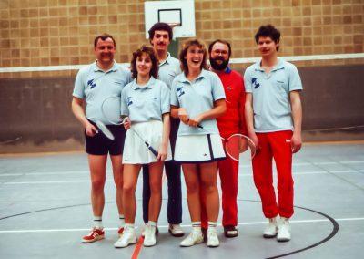 Künzelsau Badminton 1990-Mannschaft_2