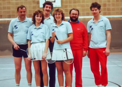 Künzelsau Badminton 1990-Mannschaft_3