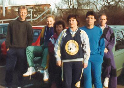 Künzelsau Badminton 1992-Mannschaft_1