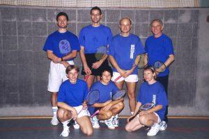 Künzelsau Badminton 2003-Mannschaft_1