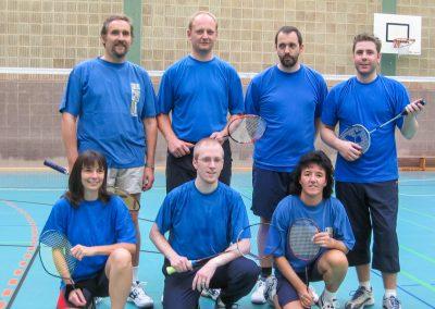 Künzelsau Badminton 2004-Mannschaft_1