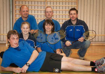 Künzelsau Badminton 2006-Mannschaft_1