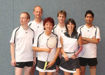 Künzelsau Badminton 2007-Mannschaft_1