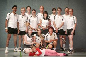 Künzelsau Badminton 2007-Mannschaften