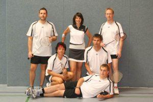 Künzelsau Badminton 2009-Mannschaft_1