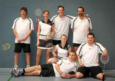Künzelsau Badminton 2009-Mannschaft_2