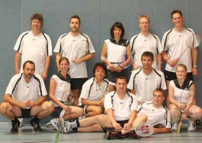 Künzelsau Badminton 2009-Mannschaften
