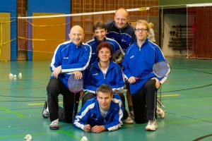 Künzelsau Badminton 2011-Mannschaft_1