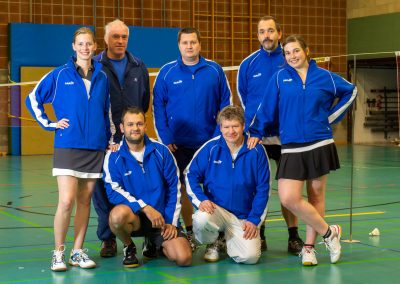 Künzelsau Badminton 2011-Mannschaft_2
