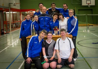 Künzelsau Badminton 2012-Mannschaften