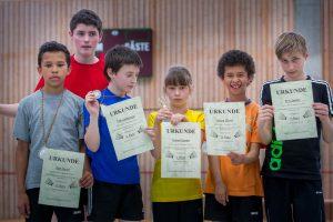 Künzelsau Badminton 2014-Jugendmannschaften