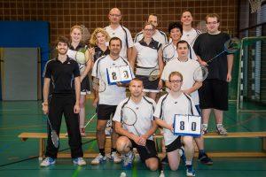 Künzelsau Badminton 2014-Mannschaften