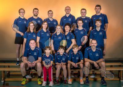 Badminton Mannschaftsbilder