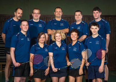 Künzelsau Badminton 2017 Mannschaft 2