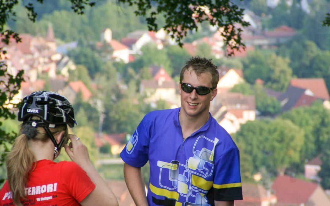 Fahrradtour 9.4.2009 – Burg Bachenstein
